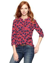 Gap | Pocket popover shirt