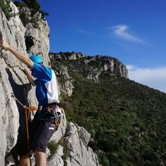 La Turbie Rock Climbing