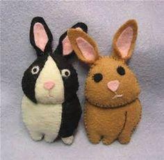 felt bunnies - Bing Images