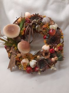 Handmade Products, Christmas Wreaths, Floral Wreath, Holiday Decor, Fall, Home Decor, Autumn, Floral Crown, Decoration Home