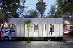 'A47' mobile library by productora, mexico city, mexico
