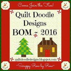 2015 Quilt Doodle Designs Row Quilt