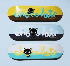 Chocolate skateboards deck sanrio hello #kitty chococat #jerry hsu #chris roberts,  View more on the LINK: http://www.zeppy.io/product/gb/2/132003217208/