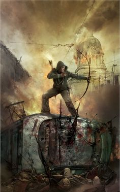 I love this Modern Robin Hood depiction. Its on my desk at work and on my bedside table...well a girl can dream.. sorry I cant site the artist as I hhave it on my HD but could find it on Internet since the first time