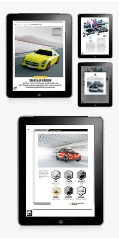 GQ MAGAZIN+ // iPad App by Michael Nolan