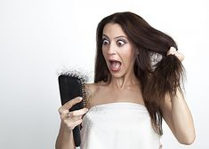 Loss of hair may be abnormal if you are losing even more than 100 hairs a day. This might result in a general thinning of hair or in an uneven loss of hair over the scalp. Stop Hair Loss, Prevent Hair Loss, Hair A, Love Hair, Hair Issues, Best Wigs, Hair Falling Out, Hair Loss Remedies, Hair Restoration