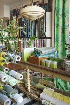 Designers Guild Kings road showroom- need to go here again, I used to walk past it every day, and dream...