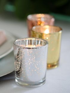 Votive Candles And Metallic Candle Holders - Set of 72 – Yummicandles The Effective Pictures We Offer You About candle holders silver A quality picture can tell you many things. You can find the Floating Candles Wedding, Candle Wedding Centerpieces, Rustic Candles, Rustic Candle Holders, Simple Centerpieces, Votive Candle Holders, Votive Candles, Hanging Candles, Jars