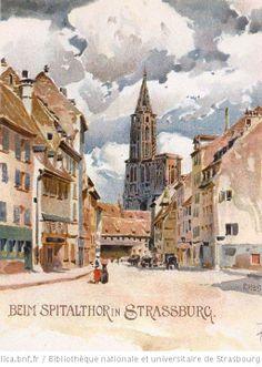 Strasbourg 1899 Franz Hoch