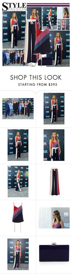 """""""2017 Fox Upfront Presentation~ Halston Sage"""" by snugget9530 ❤ liked on Polyvore featuring Prabal Gurung, Edie Parker and Stuart Weitzman"""