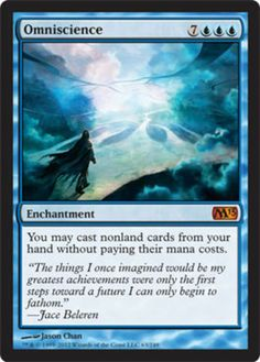 Omniscience-x4-Magic-the-Gathering-4x-Magic-2013-mtg-card-lot-mythic-rare-legacy