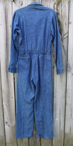 VTG Lee Union Alls Coveralls Workwear Denim Jeans Made in USA Sz 30 x 35 | eBay