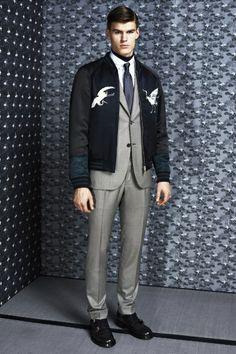 Sfilata Brioni Milano Moda Uomo Autunno Inverno 2014-15 - Vogue