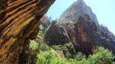 [OC] Weeping Rock of Zion National Park Utah [41282322] #reddit