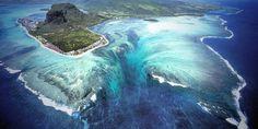 Ile Maurice : L'étonnante illusion d'une cascade sous-marine