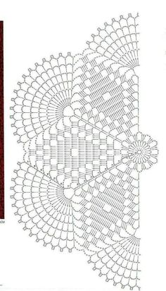 Captivating All About Crochet Ideas. Awe Inspiring All About Crochet Ideas. Crochet Doily Diagram, Crochet Doily Patterns, Crochet Mandala, Crochet Chart, Thread Crochet, Filet Crochet, Crochet Motif, Crochet Designs, Crochet Stitches