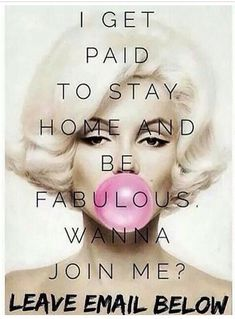 make money from home, be a stay at home mom, I'll sponsor you and show you how…