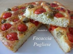 Reall about potato pizza recipes. Pizza Recipes, Gourmet Recipes, Bread Recipes, Cooking Recipes, Scd Recipes, Focaccia Pizza, Focaccia Recipe, Strudel, Empanadas