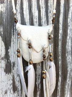 White Magic Medicine pouch. $78.00, via Etsy.