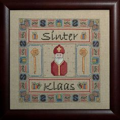Christmas In Holland, Cross Stitching, Cross Stitch Patterns, Netherlands, Projects To Try, Embroidery, Dutch, December, Crafts