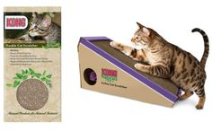 Cat Scratchers for NYC-Sized Apartments> Beauty News NYC - The First Online Beauty Magazine Reviews the KONG Cat Scratchers