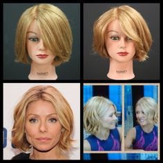Kelly Ripa NEW Bob Haircut Tutorial | TheSalonGuy