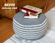 Adult Pouf Floor Cushion Crochet Pattern PDF,Easy, Great for Beginners Crochet Stitches For Beginners, Beginner Crochet Tutorial, Beginner Crochet Projects, Crochet Pouf, Crochet Gifts, Crochet Ideas, Crochet Tutorials, Easy Crochet, Pouf Ottoman