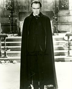Christopher Lee - the best Dracula!