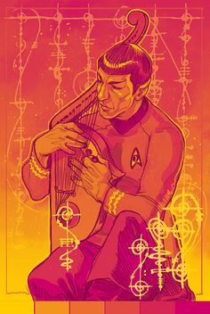 Spock by gorlassar #startrek #tos #fanart