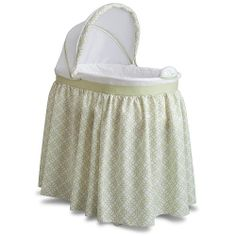 "Delta Sweet Beginnings Bassinet - Tonal Green - Delta - Babies ""R"" Us this has everything!!!"