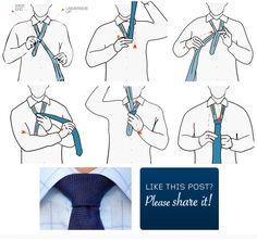 How to tie a Nicky Tie Knot for skinny ties