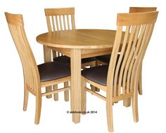 Medoc Round Extending Table