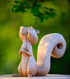 Sleeping Beauty Castle Squirrel