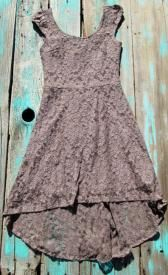 Louisiana Cowgirl Lace High Low Dress Perfect Dress To Wear to a formal or casual event $33.00