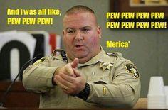 Pew pew 'merica