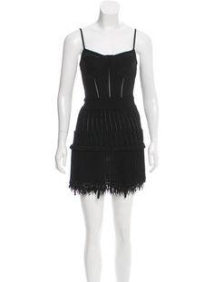 Roberto Cavalli Knit Mini Dress