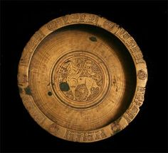 Seljuk Dish Incised with al-Buraq - Origin: Central Asia Circa: 12 th Century AD to 13 th Century AD Dimensions: hig. Copper Dishes, Sassanid, Antique Jewellery Designs, Ancient Artifacts, Central Asia, Old Art, Art Object, Textile Patterns, Islamic Art