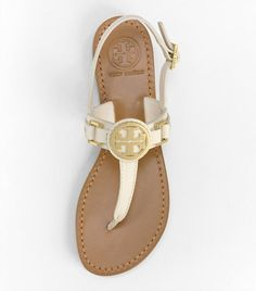 tory burch- I love gold hardware