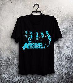 asking alexandria band tshirt