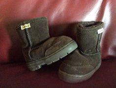 Bear Paw Child's Boots Sheepskin Size 6 Chocolate Brown   eBay