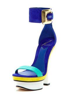 B Brian Atwood Braganca Platform High Heel by B Brian Atwood on @HauteLook