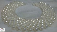 #1 How to make Pearl Beaded Necklace    Diy    Jewellery Making