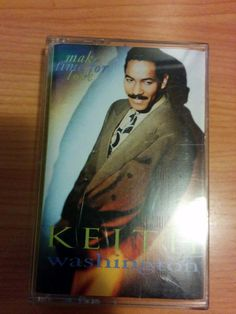 Keith Washington - Make Time for Love Cassette Very Good Tested & Working