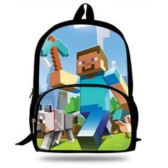 16-Inch 2017 Hot Sexy Character Backpacks cartoon game Print Bag For School  Boys Girls Backpacks For Students 91ccdacae6