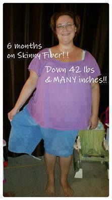 Fantastic Job Just imagine where you could be in six months  To order Skinny Fiber please http://mrsmcgraw.EatLessWithSkinnyFiber.com