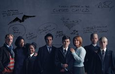 Watch what happens when J.K. Rowling writes all over the official character portraits of the Harry Potter and the Cursed Child Parts One and Two cast.