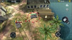 Massive Warfare is a Android Free 2 play Action Shooter Multiplayer Game featuring top down battles across land sea and air