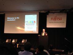 Keynote by @Mark Hatch, CEO of Techshop!!! #FLATS2014