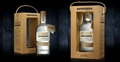 #Rhum Karukera, L'intense. Designed by #Linea.  #Handcrafted #White