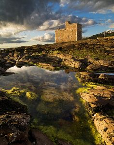 Portencross Castle - Ayrshire, Scotland